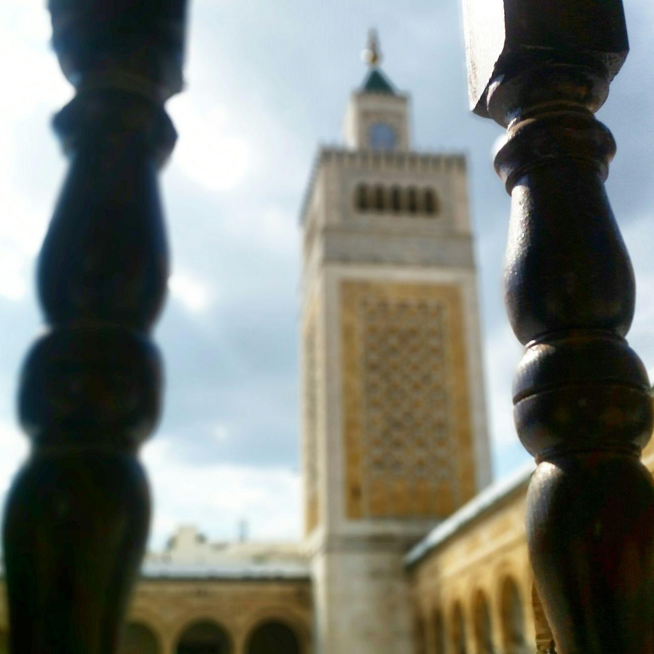 mosquée zitouna Architecture Arabo Musulmane Tunisia Beautiful Place Smartphonephotography Eyeemtunisia Eyeemtunisie Spring2015