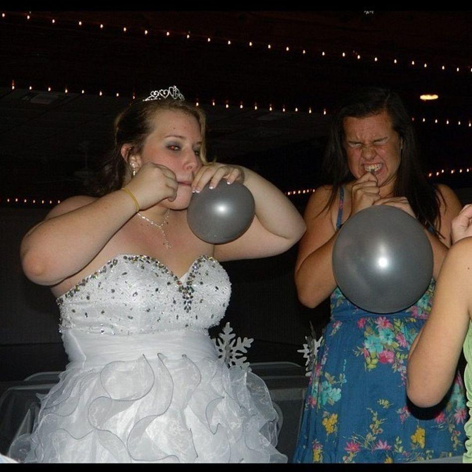 Having Fun With Ballons
