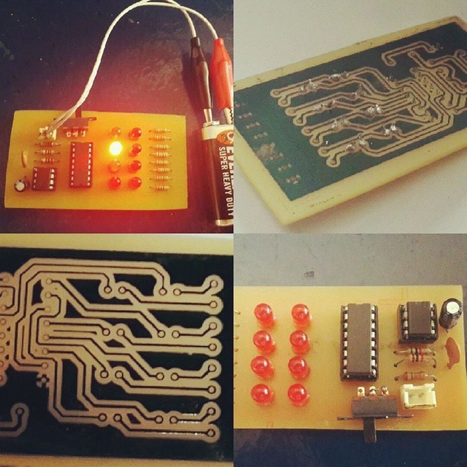 First ever electronic circuit Engineering Ece Eceproject