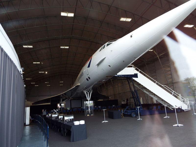 Concorde Hanger Manchester Airport Plane Airport AirPlane ✈ Airplane Aircraft Retired British Airways