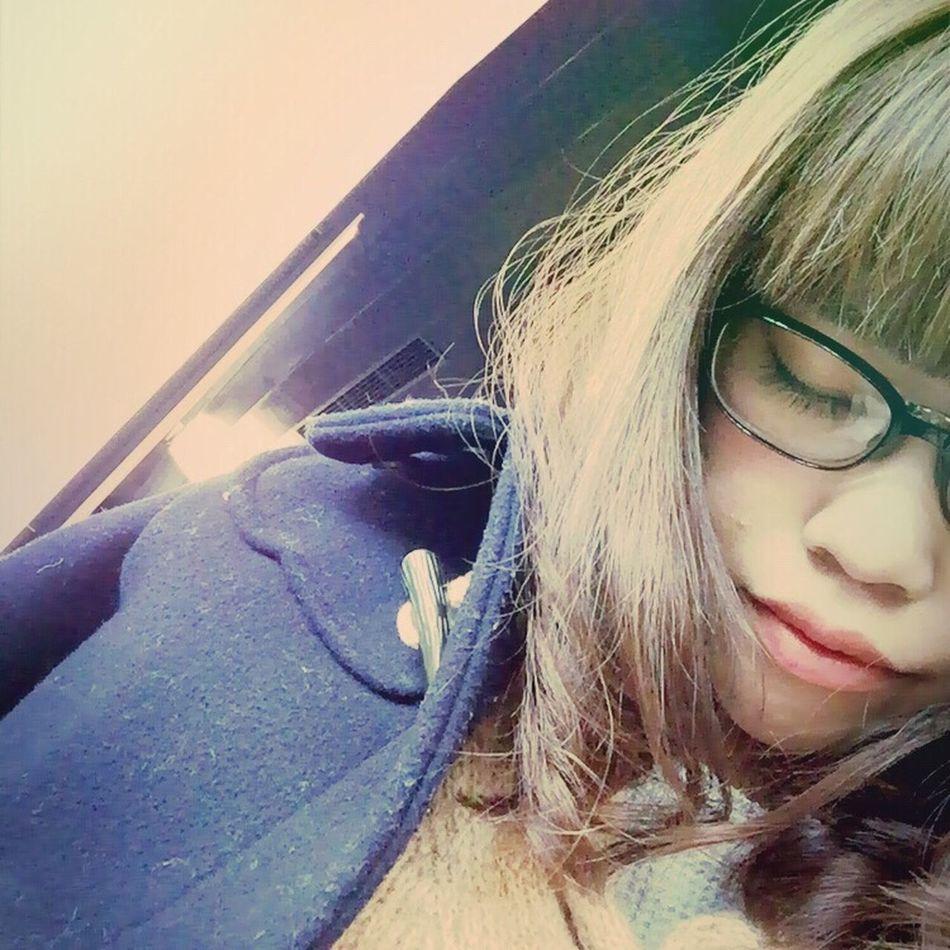 こもかめら Self Portrait Glasses 花粉メガネ👓 Zoff