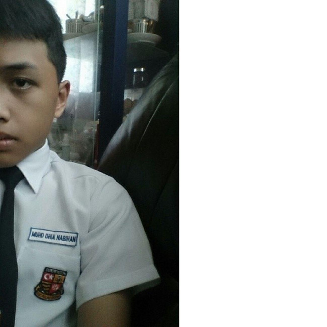 School babe ! Selfieeee School Uniformsekolah