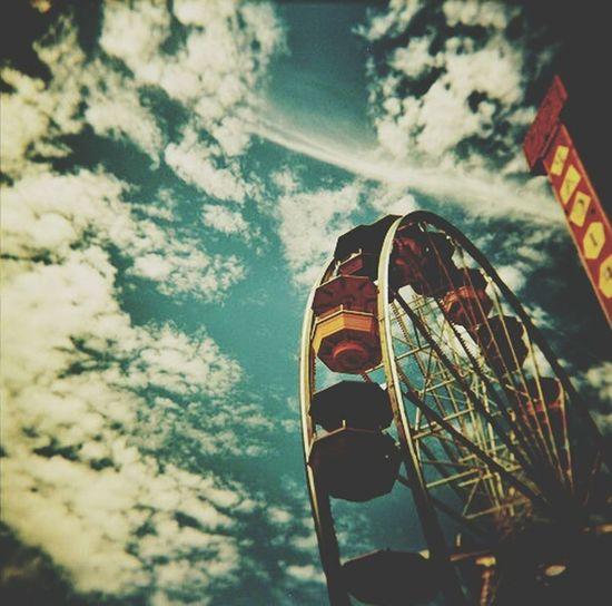 Ferriswheel Adventure Experience Joy Cool Nurtured Memories