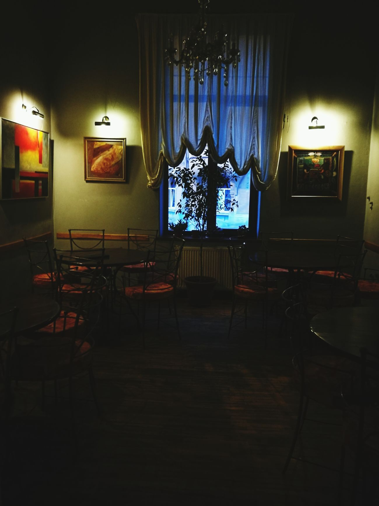 Vintage Restaurant Vintage Pub Old Old Building  OLD INTERIOR OF HOUSE Old City Jazz Lamps Chairs Tables Windows Green Color Green Wall Urban Coffee Old Bucharest Relaxing