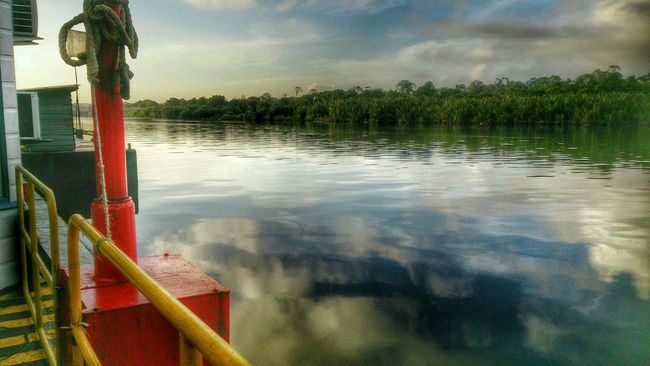 HDR View of Kuala Belait River