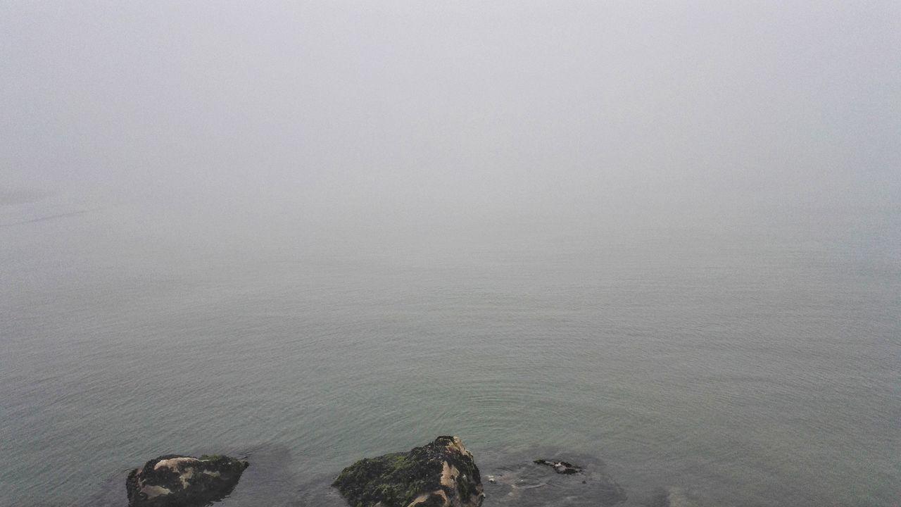 No People Nature Original Photo Tranquility Outdoors Nature Sea Adriaticsea Whater Outdoor Photography Fog Autumn Horizon Horizont Over Fog