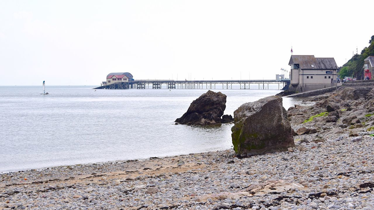 Taking Photos Seaside Photography Slipway. Pier Rocks Pebbles Nikon D5500