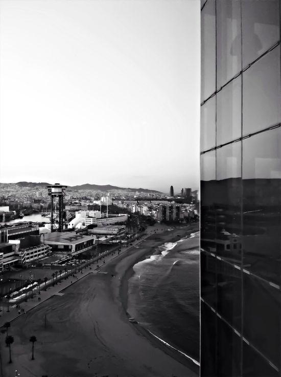 Reflection Blackandwhite Urban Landscape Bw_collection