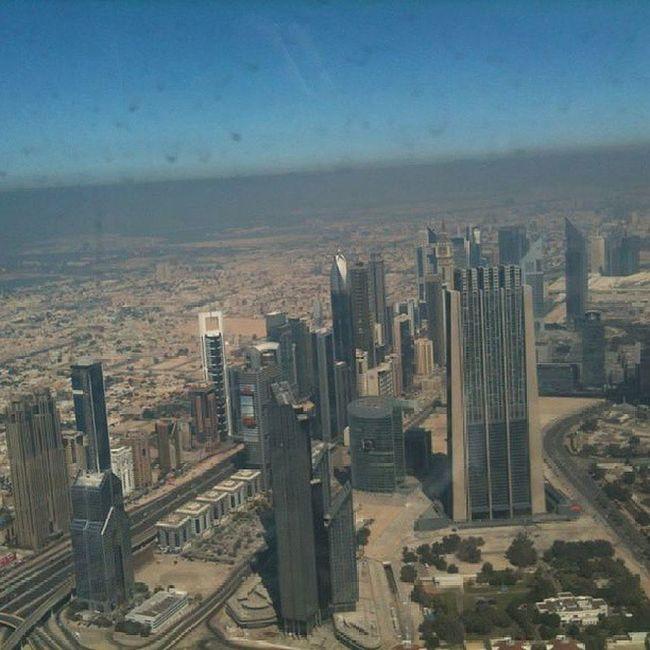 Burj al khalifa view Burj Alkhalifa Burjalkhalifa Dubai Dubailand UAE Gulf Emirates Emirati Arab Arabic DXB ILoveUAE Iloveit OneLove Travel Trip Bestplace Bestoftheday Buildings Instauae Landscape View City Desert