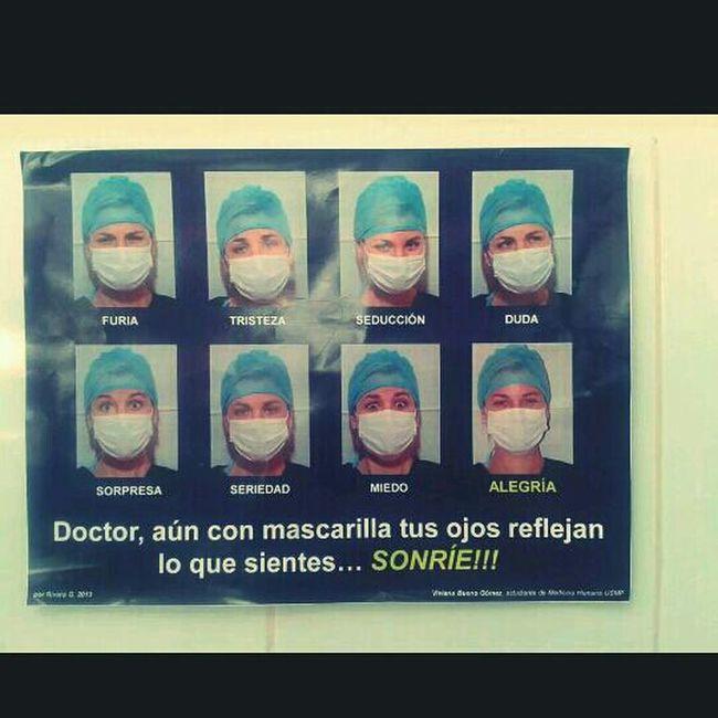 Smile, doctor! :D Surgery Pre-surgery Medical Student Usmp