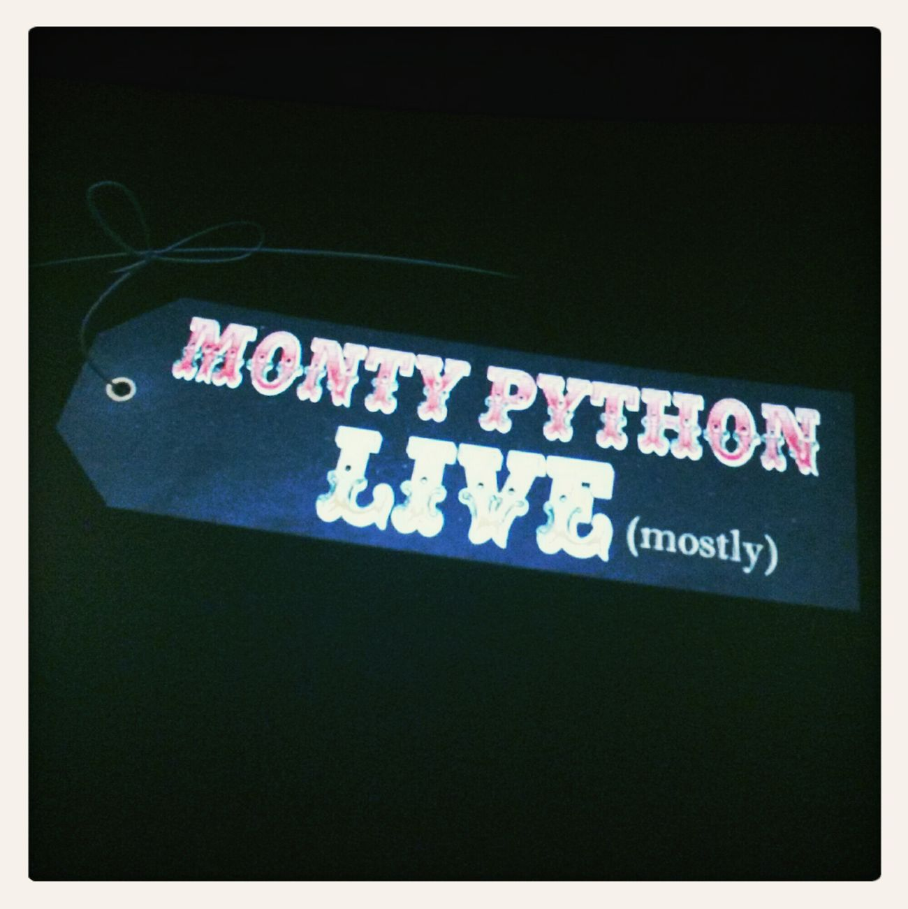 last show - via cinemas Monty Python Monty Python's Flying Circus Cinema