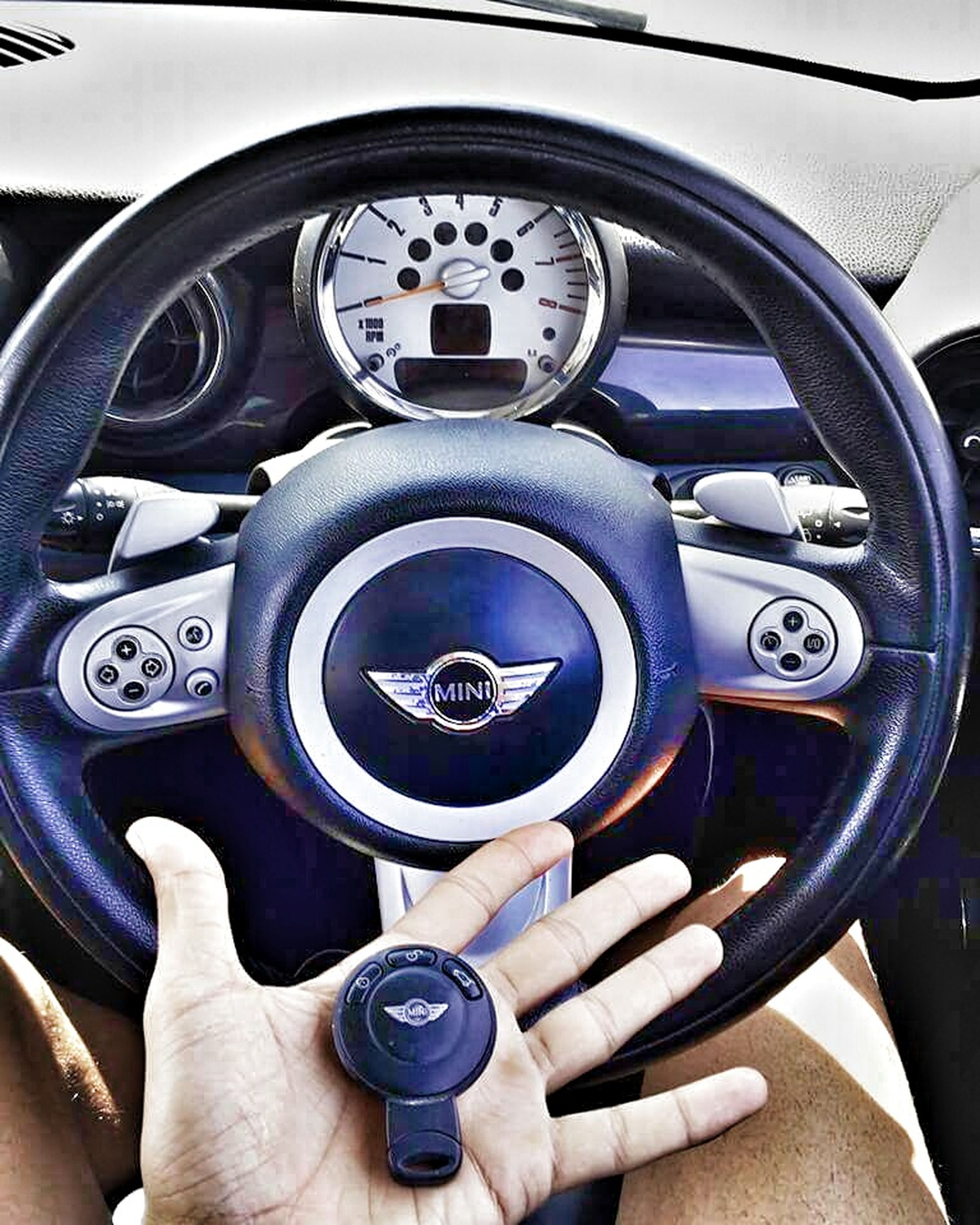 human hand, human body part, car, transportation, close-up, gearshift, technology, adult, people, one person, adults only, speedometer, day, outdoors, one man only