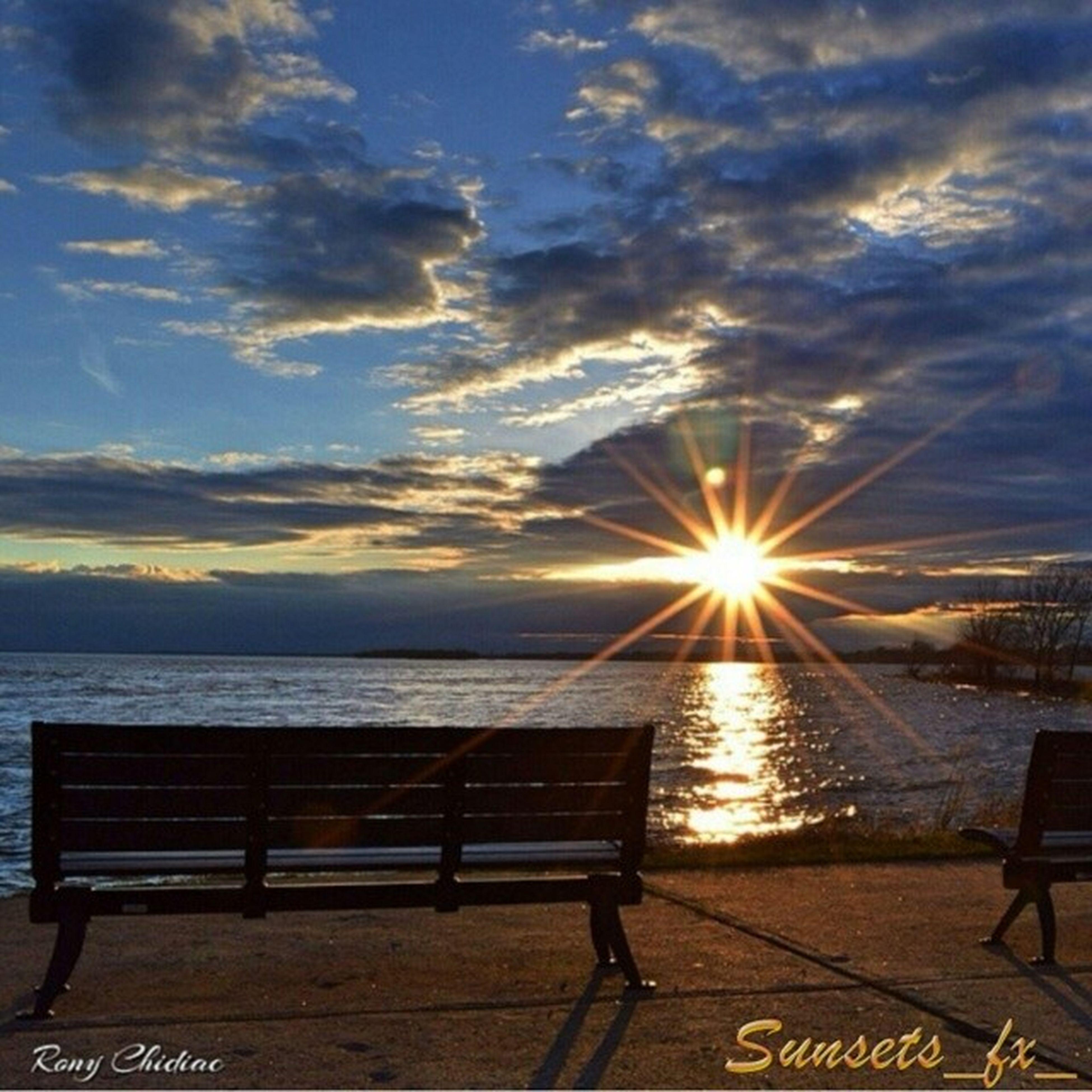 sky, sun, cloud - sky, sunset, sea, sunbeam, sunlight, water, scenics, cloud, beauty in nature, cloudy, tranquil scene, tranquility, nature, horizon over water, lens flare, beach, idyllic, outdoors