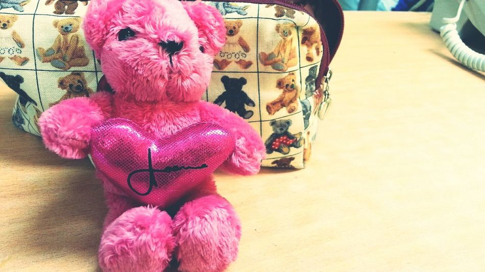 Got a bear from one of my students :) so lovely!