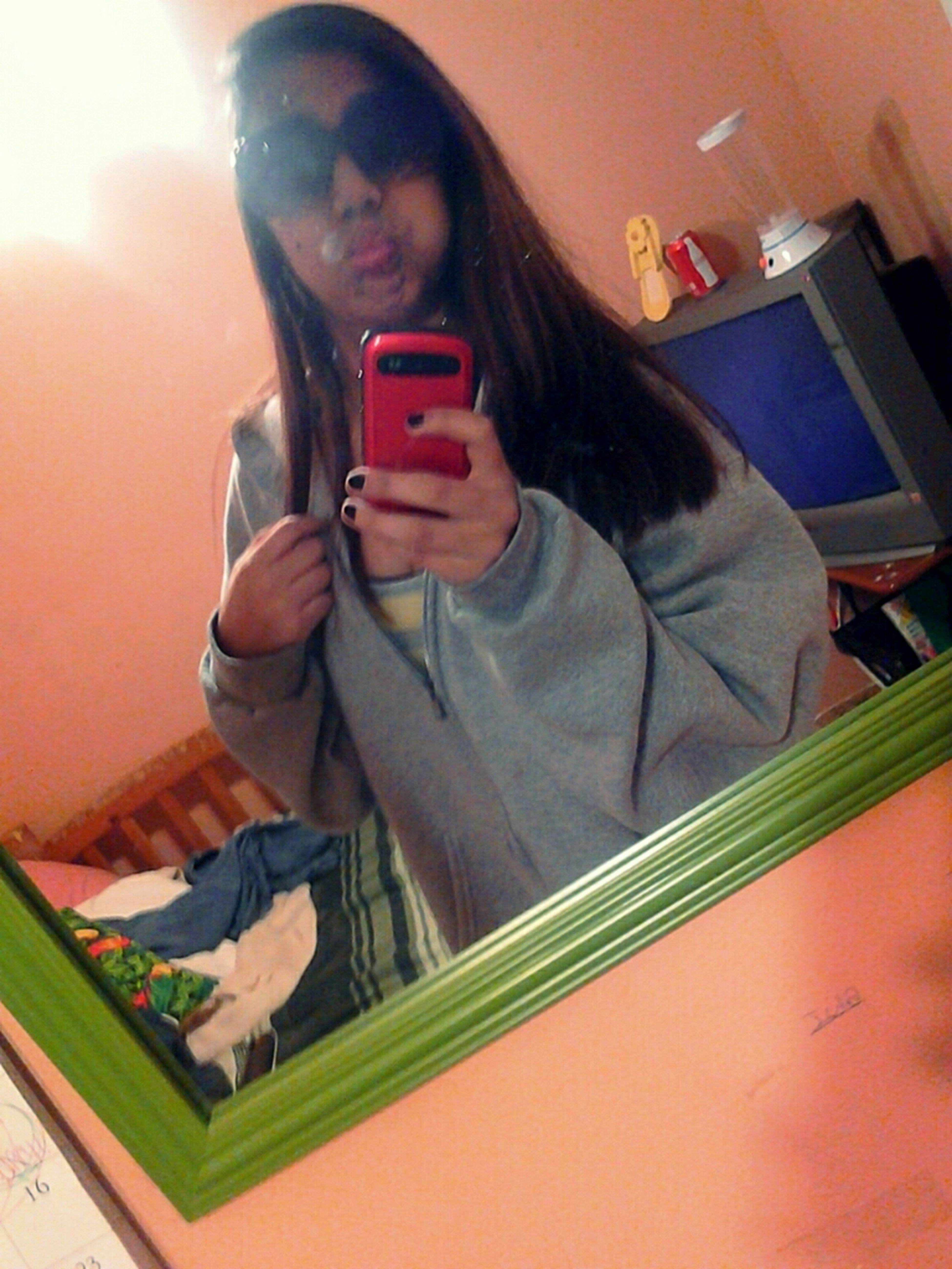 Taking Pictures At Home Mu Room ^.^ Bored /.<
