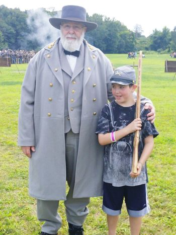 General Robert E Lee Civil War Reenactment My Son I Love My Son Confederate Soldier Popular Eyeemphotography