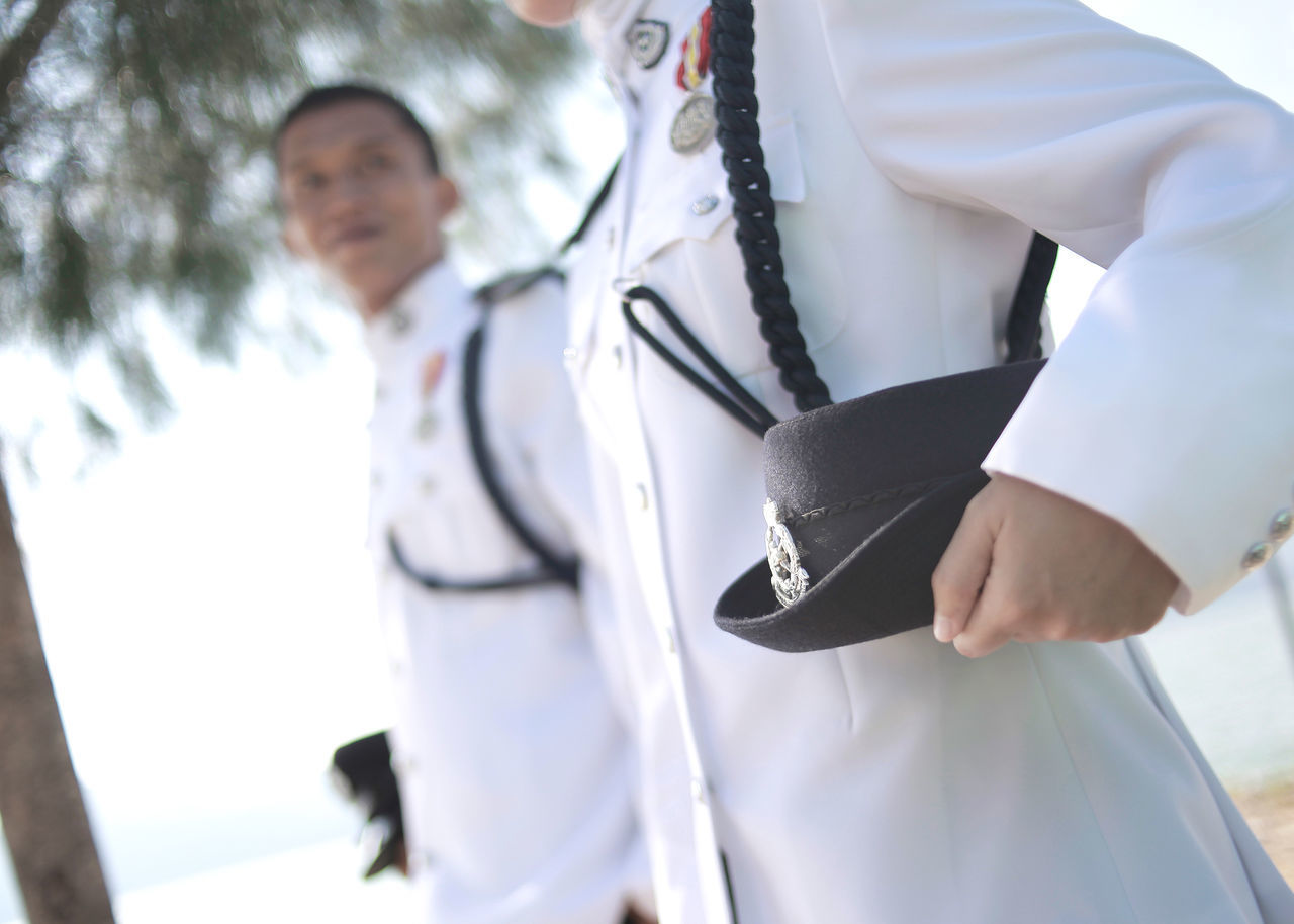 Be. Ready. Occupation Working Close-up Love Couple Togetherness Outdoors Selective Focus Couple - Relationship Police Couple Malay Marina Island Indoors  Two People Happiness Job & Love Police Malaysia Police Love Police Badge
