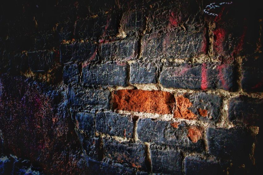 Wall - Building Feature Brick Wall Architecture Built Structure Rough Day Textured  No People Outdoors Building Exterior Close-up