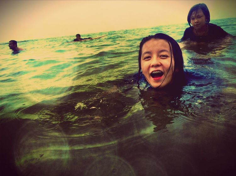 Emography Portrait ....be Free.... Taking Photos ..beach Art Enjoying Life ..live Today.. Tiny Island