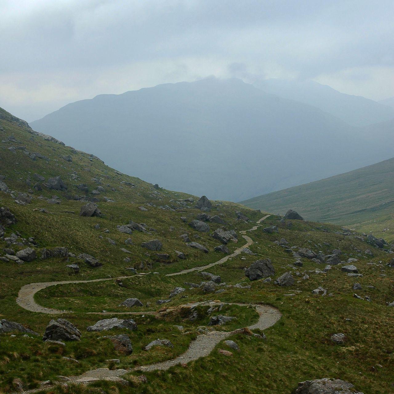 The Great Outdoors - 2016 EyeEm Awards Path Mountains Scotland The Cobbler Arrochar