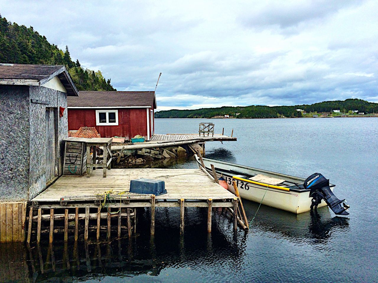 Fishermans life - iPhone 5S - Newfoundland Canada The Great Outdoors - 2015 EyeEm Awards AMPt_community Sea Nature_collection Seaside Landscape Landscape_Collection Canada Sea And Sky Taking Photos