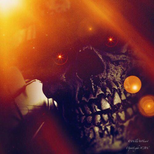 Boo, Halloween Scary Skull Creepy