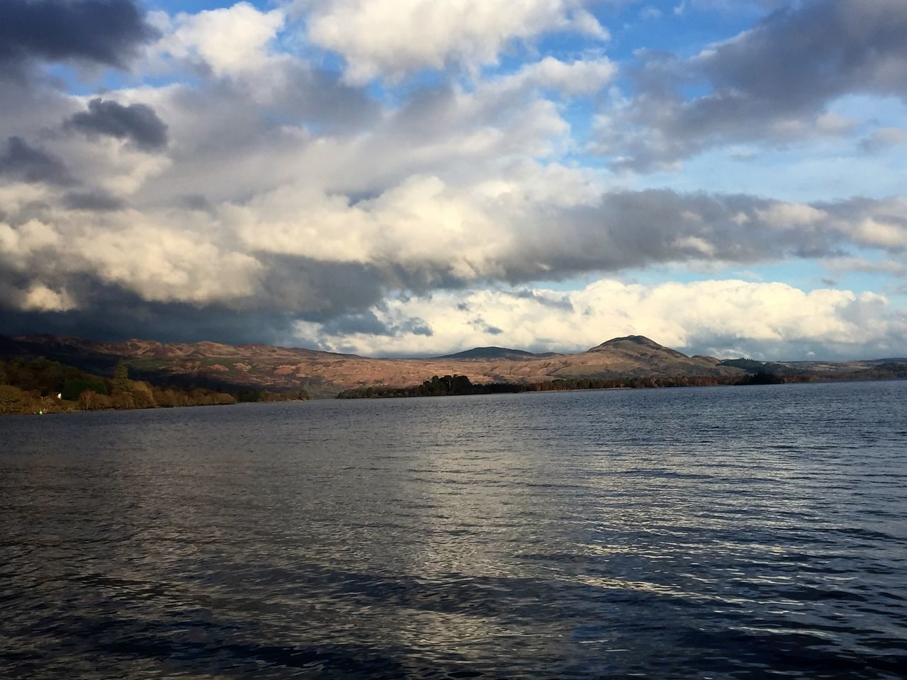 Beauty In Nature Day Lake LochLomond Mountain Mountain Range Nature No People Outdoorlife Outdoors Rural Scene Scenics Sky Sky And Clouds VisitScotland Water Waterfront