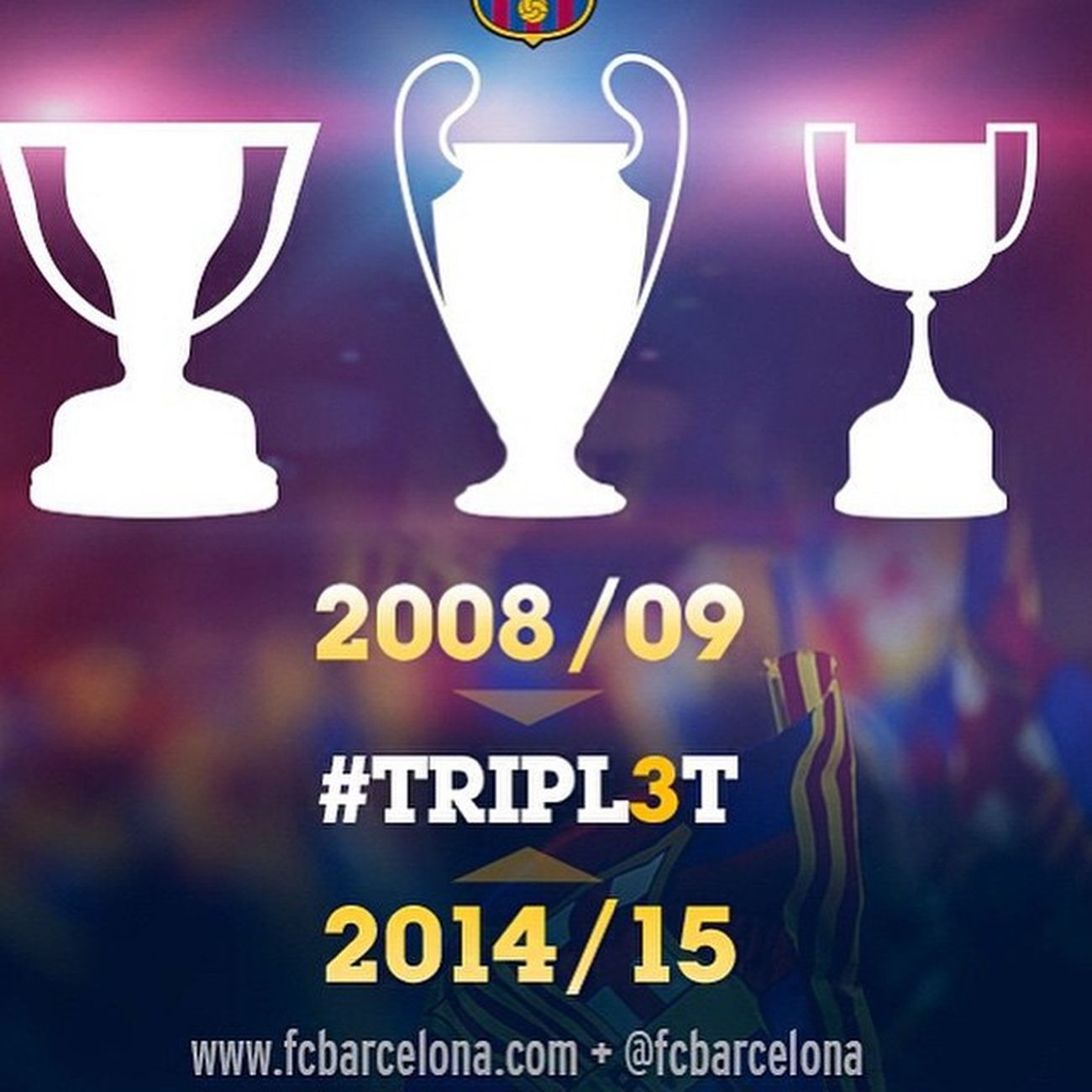 Historic 2ndTreble TRIPL3T <3