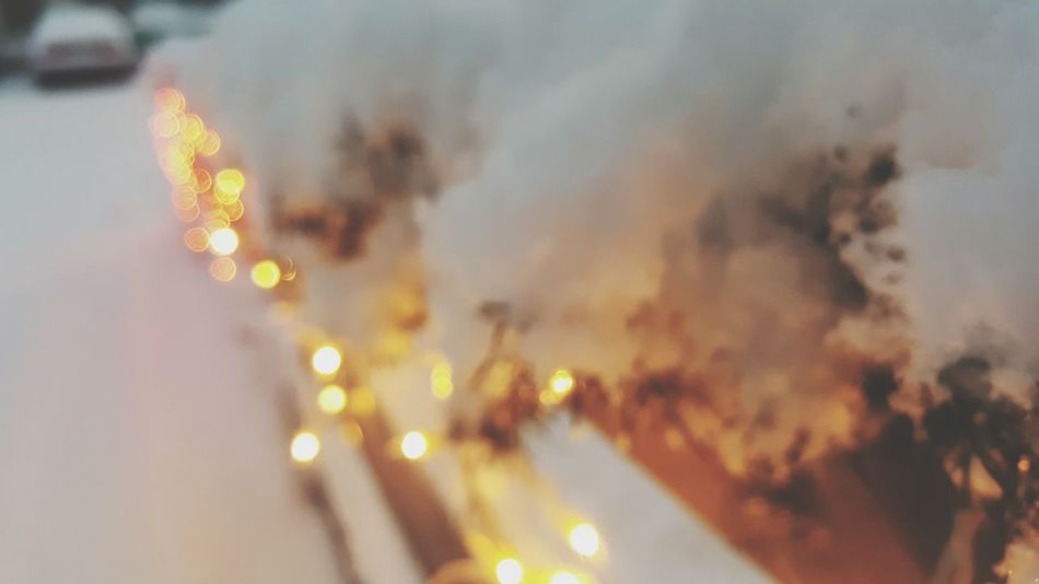 Backgrounds Abstract Defocused Illuminated Heat - Temperature Gold Colored No People Christmas Winter Shiny Close-up Holiday - Event Smoke - Physical Structure Burning Nature Indoors  Day