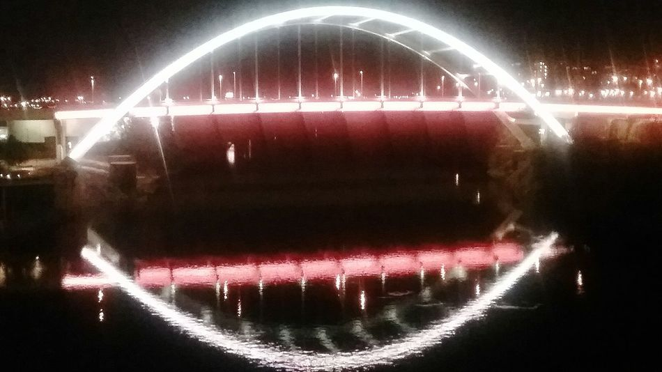 Nashville, tn. The old shelby street bridge renovated into a pedestrian bridge. Downtown. Illuminated Night NASHVILLE,TENNESSEE Arts Culture And Entertainment Long Exposure No People Star - Space Galaxy Astronomy Outdoors Titans Predators Cumberland River First Eyeem Photo