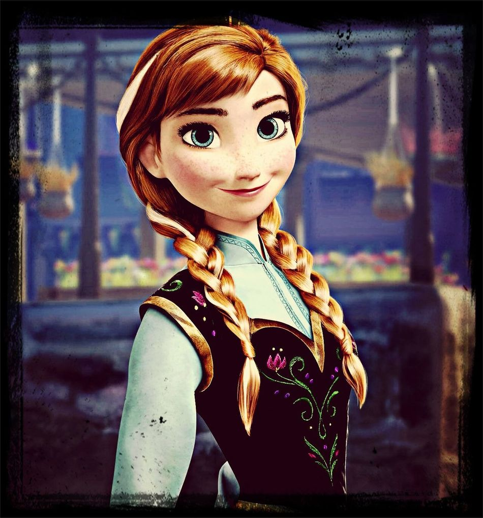 I Love Frozen... Especially Anna... :) Frozen Anna