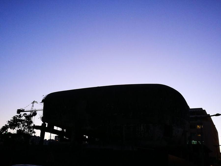 UFO Built Structure Sky Silhouette Architecture The City Light