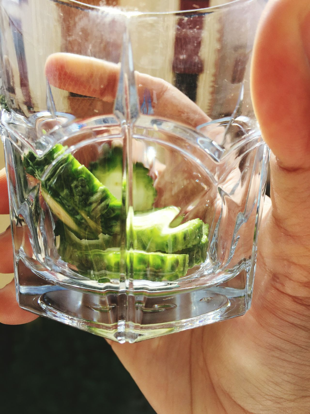 Glass Healthy Eating Healthy Lifestyle Gourd Bitter Gourd Flowers Bitter Groud Gourds Gourd Bitter Bitter Gourd Bittergourd Green Glass - Material Things In A Glass Natural Food Healthy Green Color Close-up Freshness Refreshment