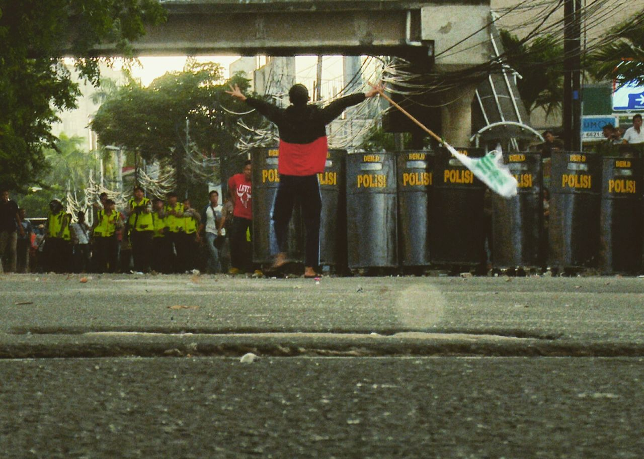 Police Teargas Unrest Demonstration Afternoon Chaos Photojournalism Documentary