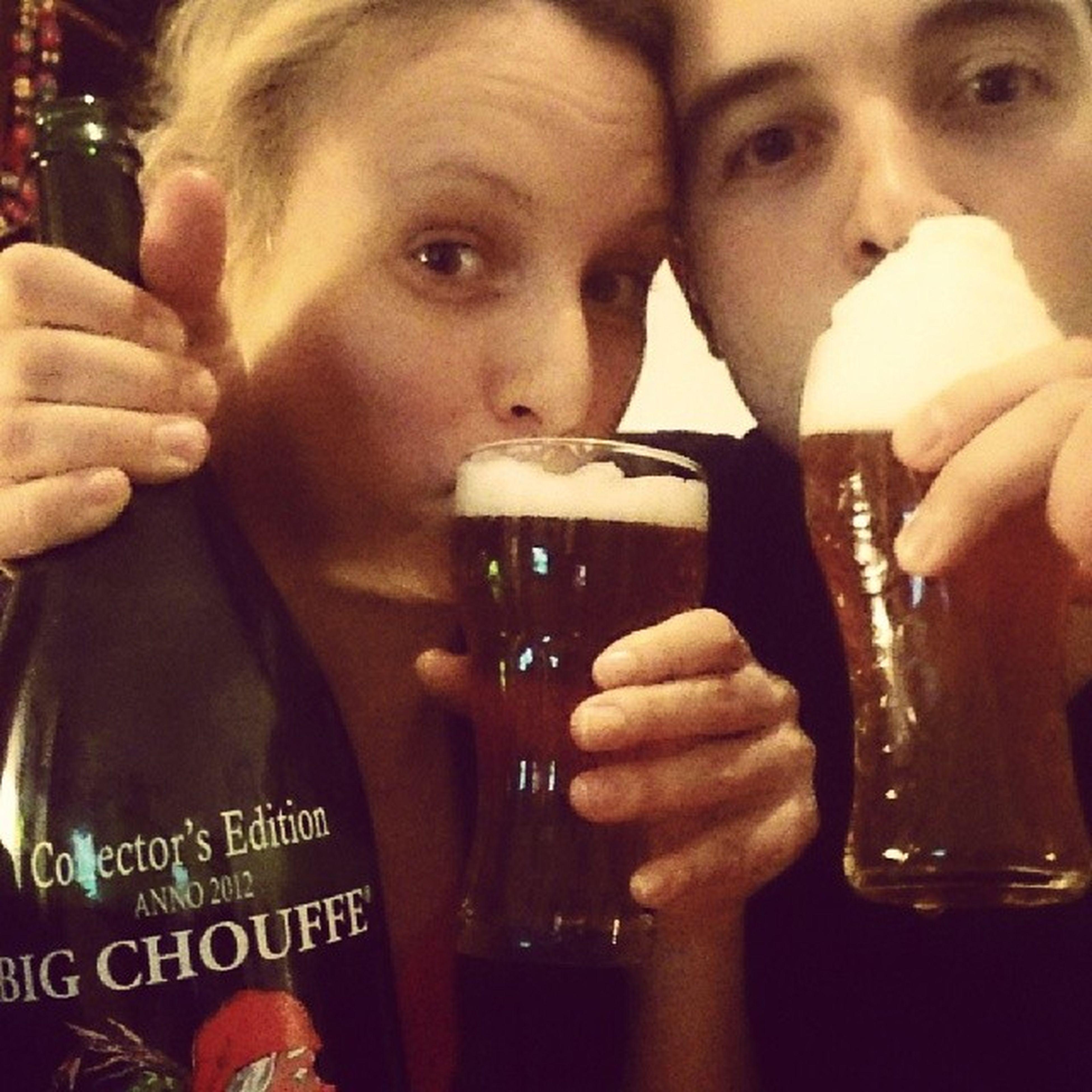 Belgian beer galore :-) Bigchouffe Chouffe Belgianbeer Bestbeer