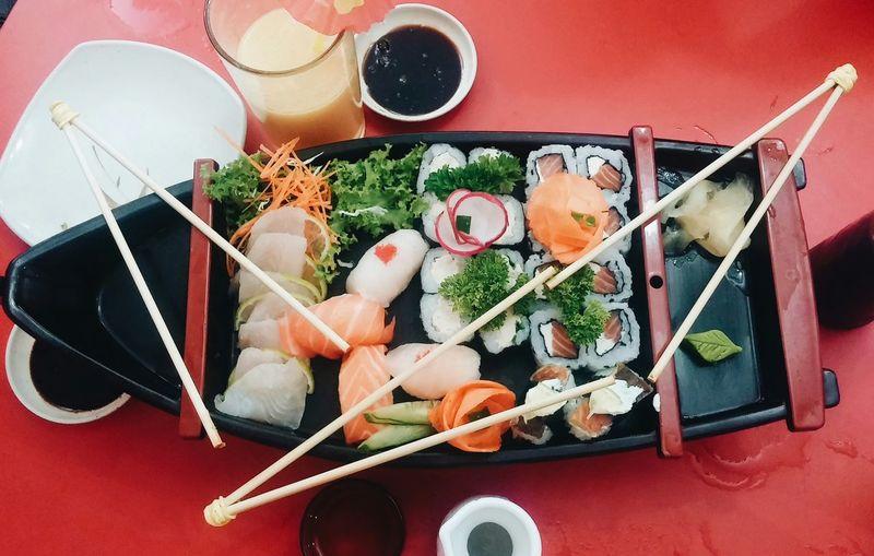 Japanese Food Sushi Sushi Time