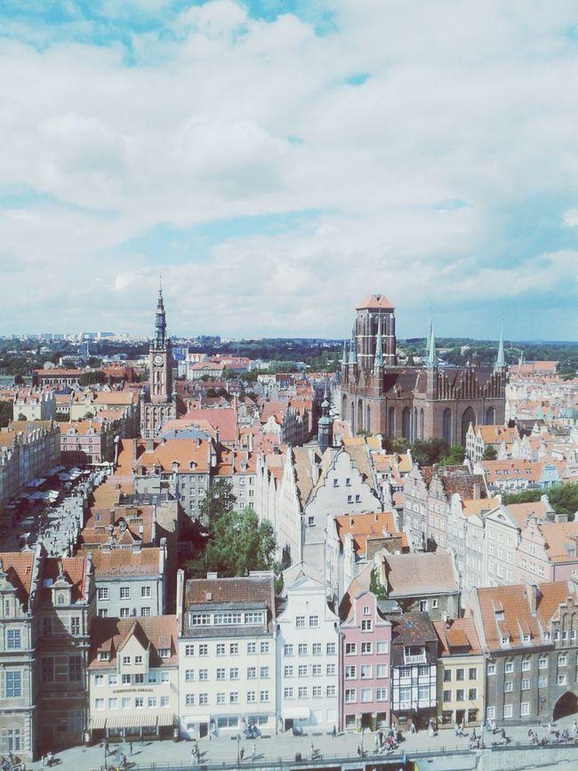 Gdańsk pieknym miastem. Gdańsk. Gdańskeye