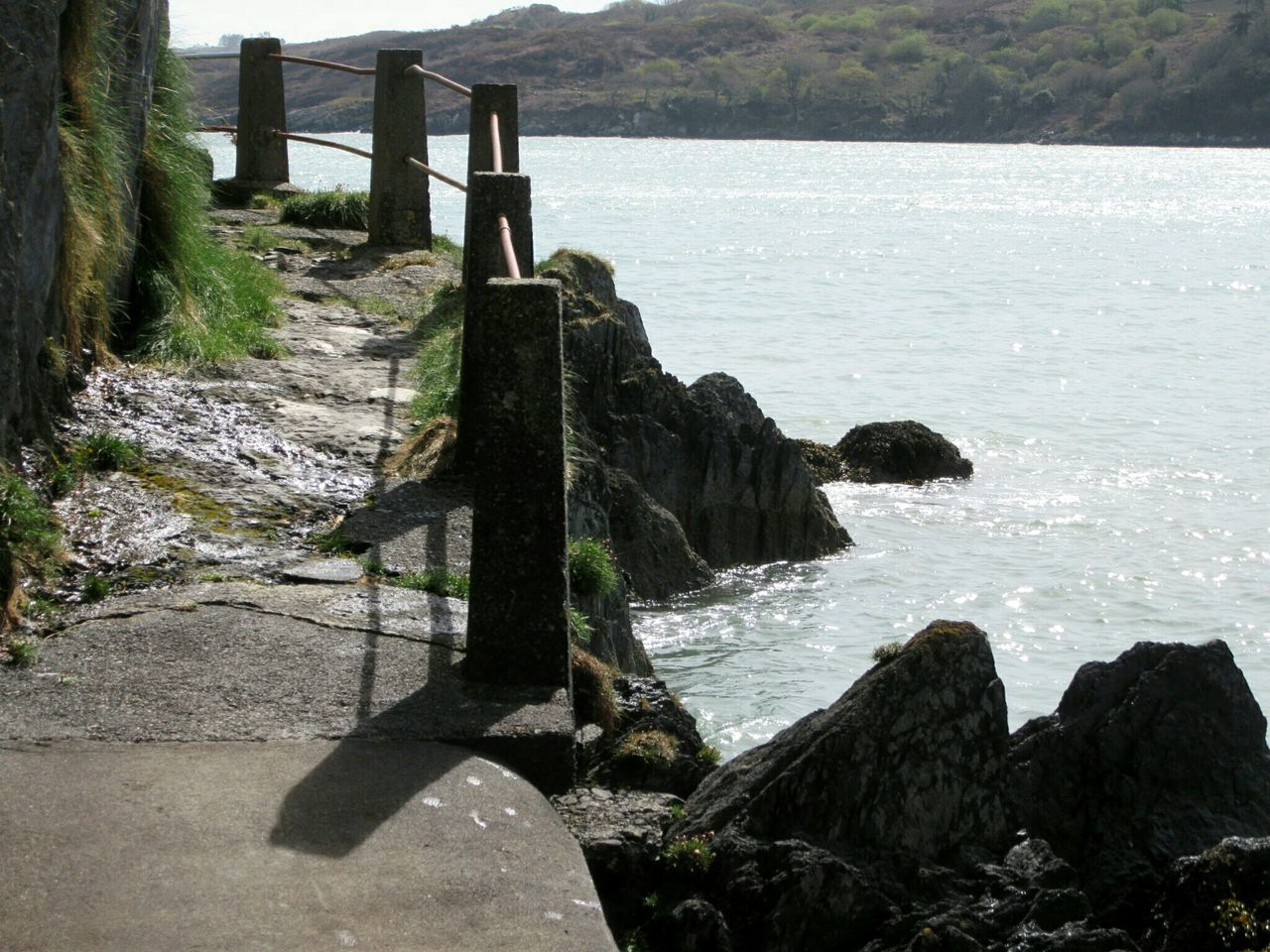 Path to bathing place Path Shoreline Rocky Shore Seashore Glandore, Ireland West Cork Wildatlanticway Ireland