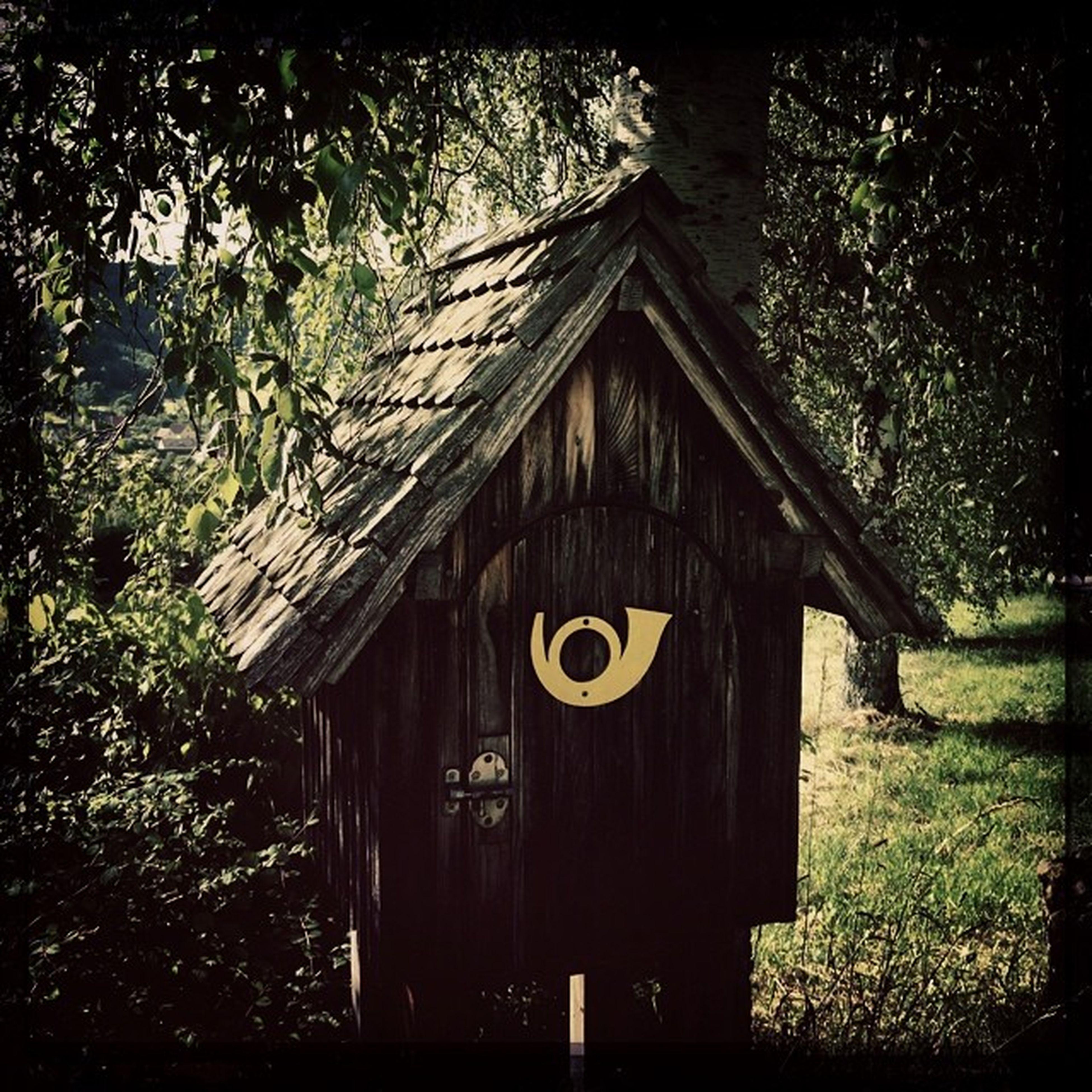 #wooden #mailbox #franconia #bavaria #germany