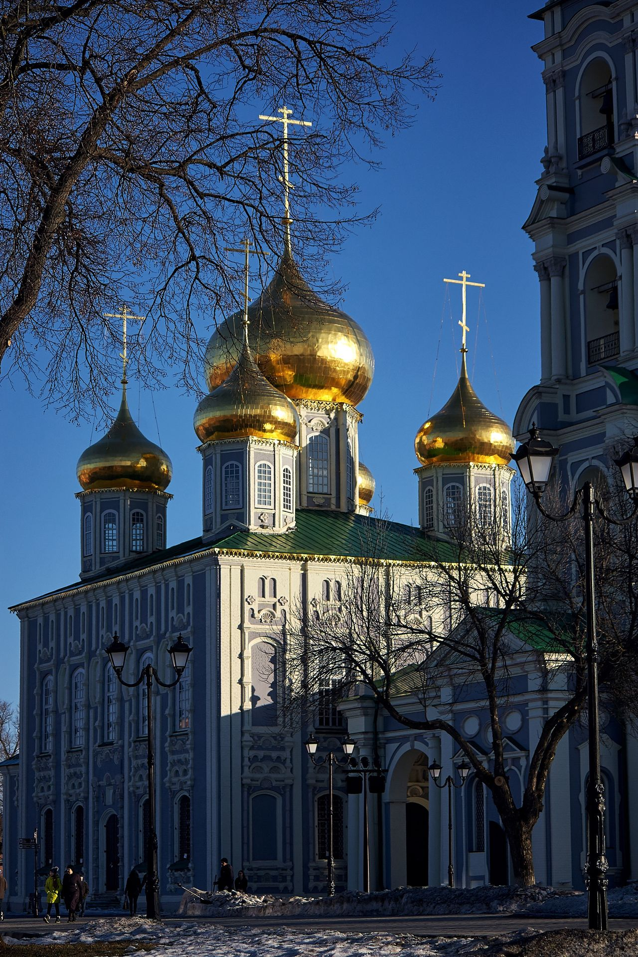 And even when the whole world doubts... Trust Russia Architecture Built Structure Building Exterior Religion Gold Colored Spirituality Gold Cultures Day Temple Church
