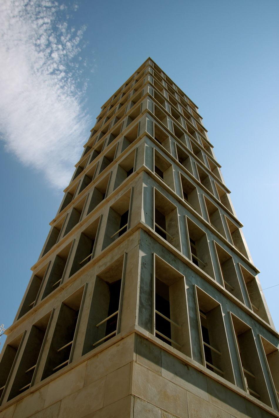 Architectural Feature Architecture Bell Tower Building Exterior Città Di Fondazione Fascista Fascistarchitecture No People Razionalismo Segezia- FG Tower Ventennio