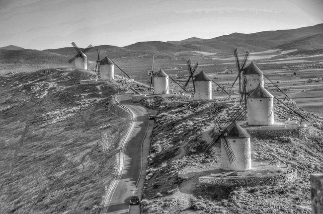 Molinos de viento Molinos De Viento Consuegra La Mancha España SPAIN