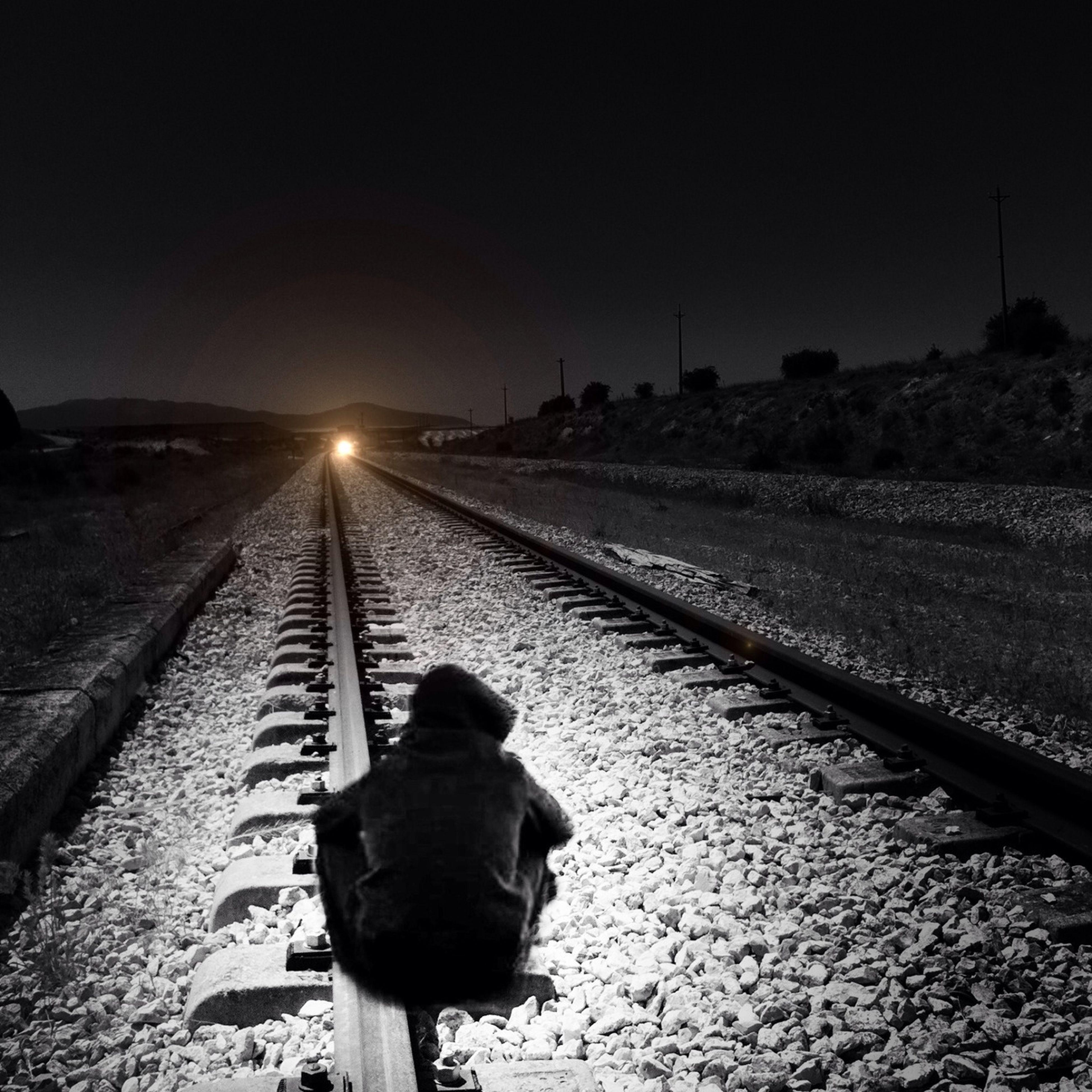 Train, Light, Boy