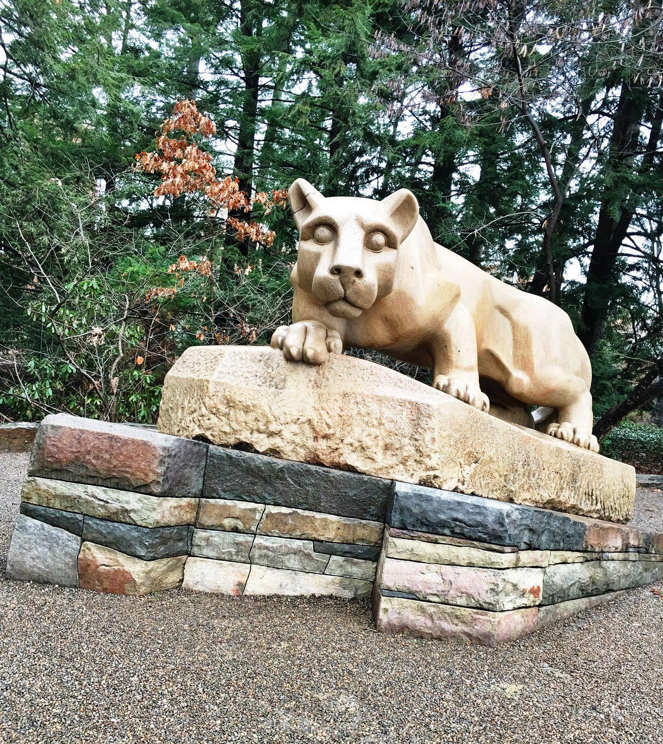 Penn State girl 💙 Pennsylvania University Penn State Lion Shrine Lion College Alumni