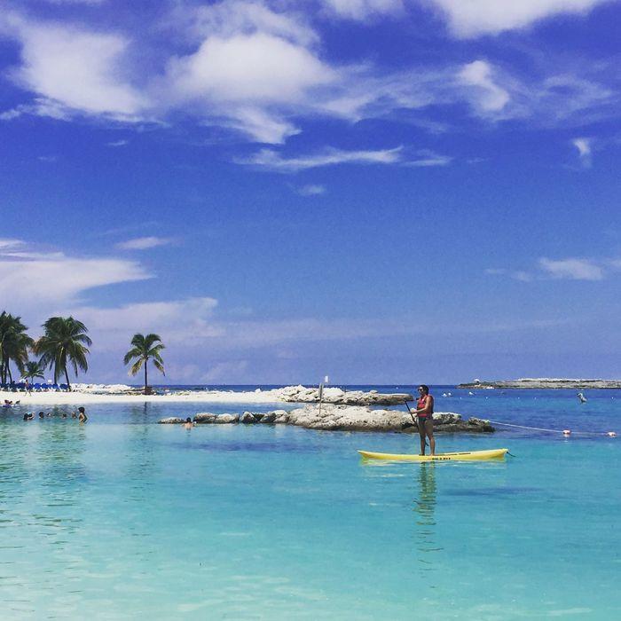 Coco Cay Bahamas Blue