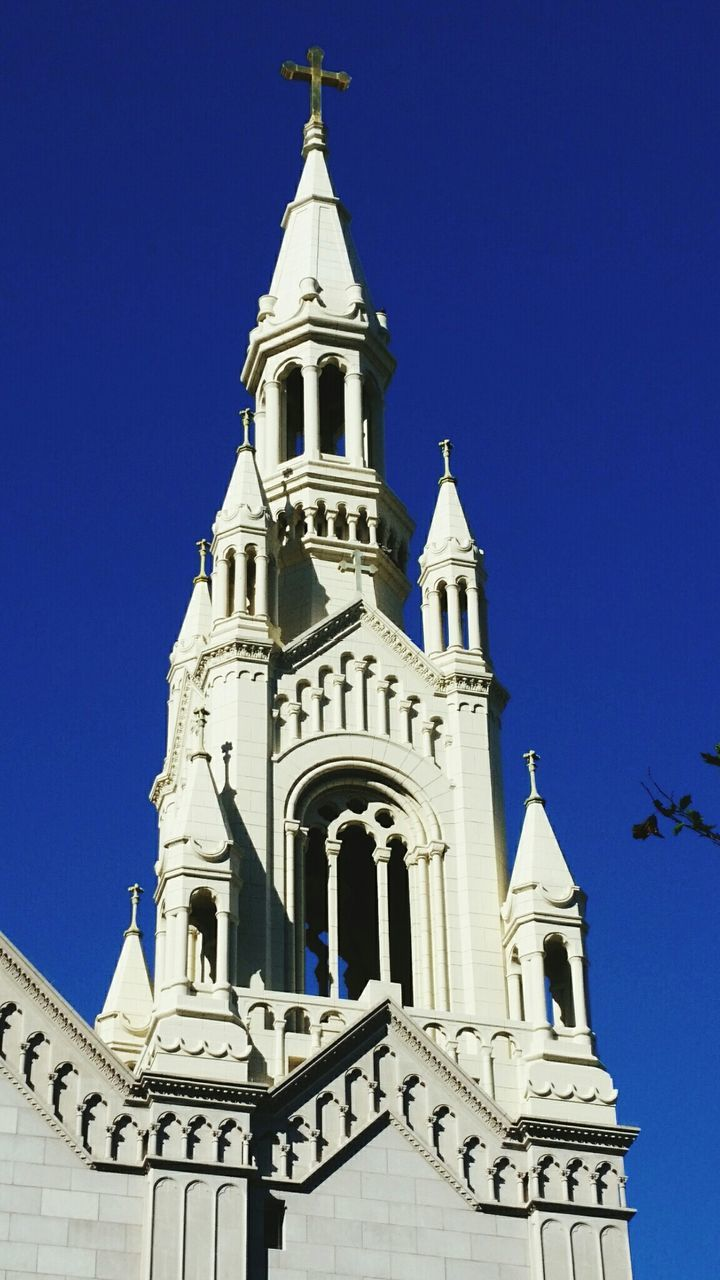 Low Angle View Of Saints Peter And Paul Church Against Clear Sky