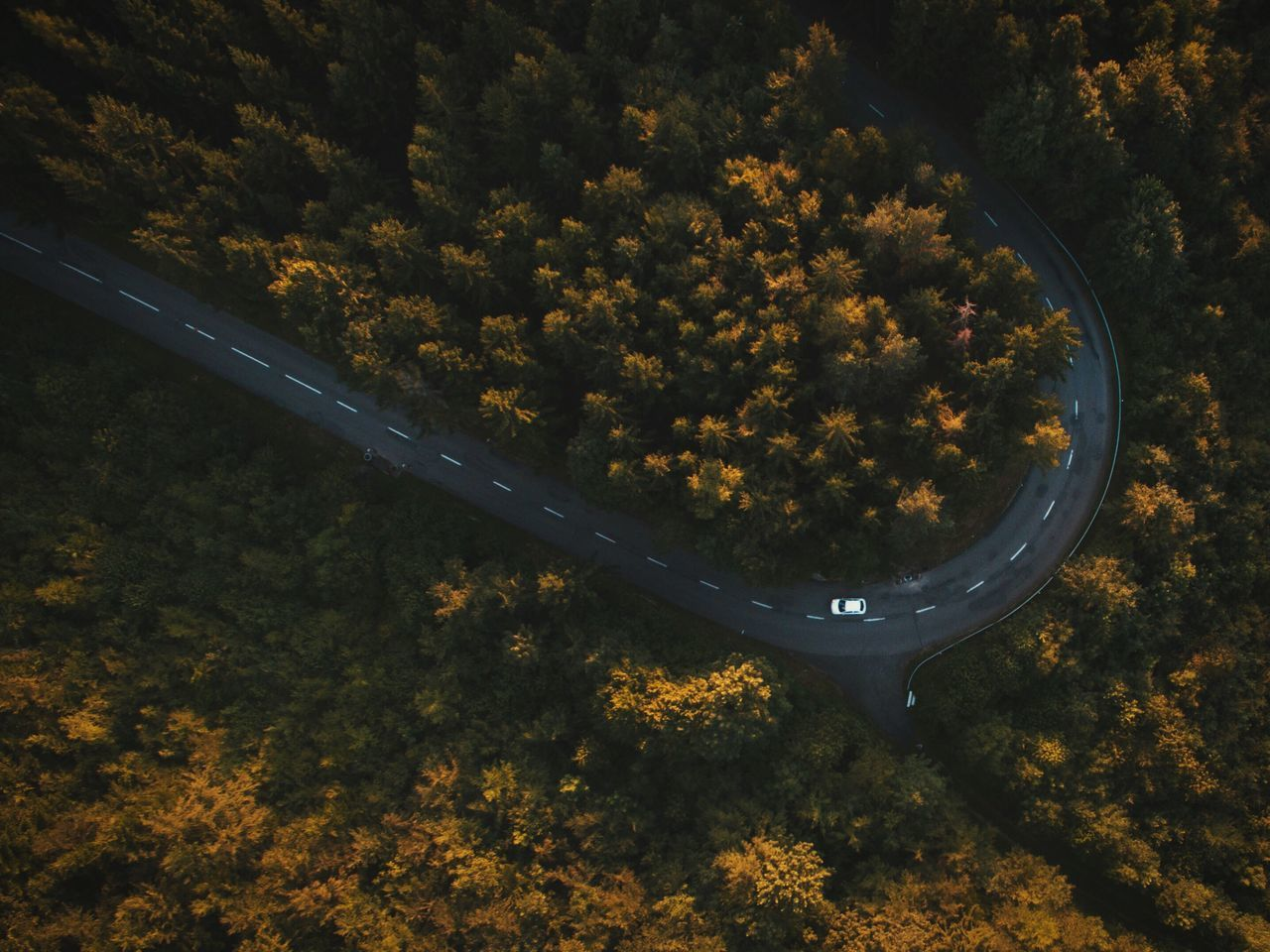 Beautiful stock photos of world,  Aerial View,  Beauty In Nature,  Bend,  Car