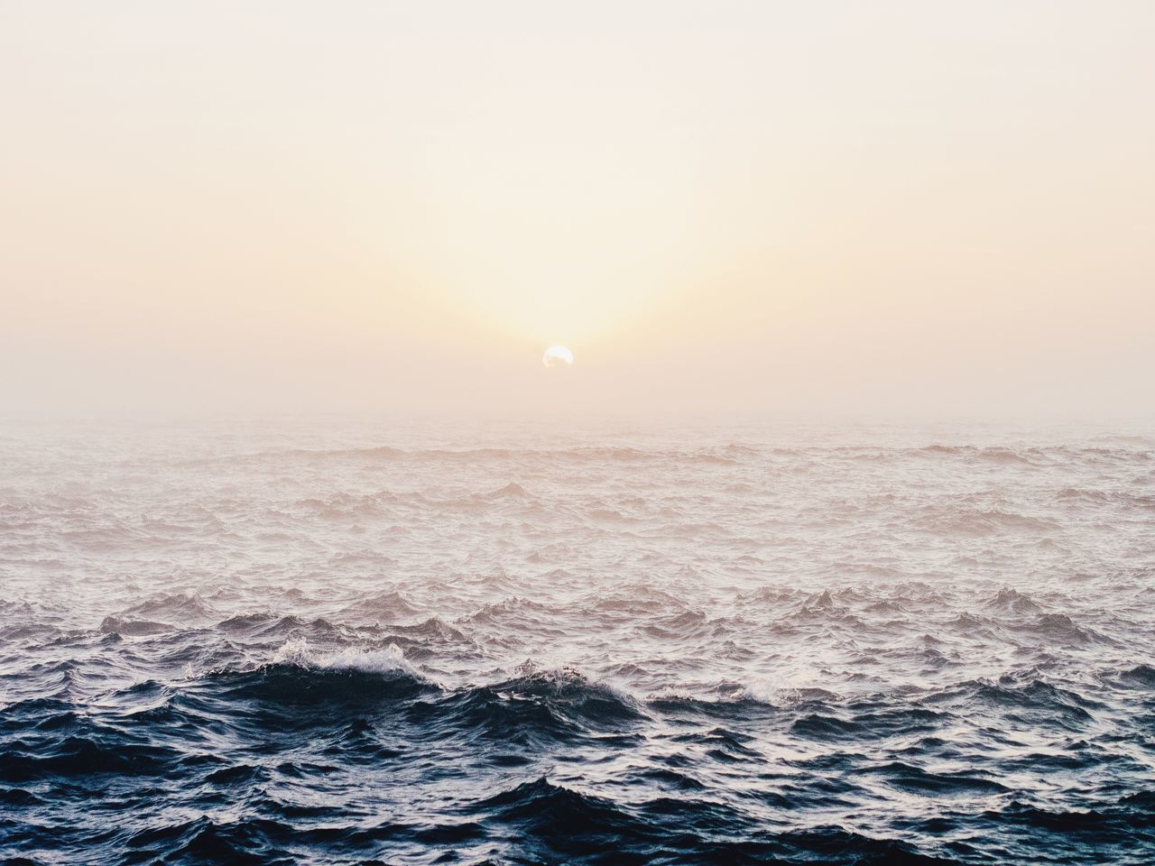 Beautiful stock photos of ocean, Beauty In Nature, Clear Sky, Copy Space, Day