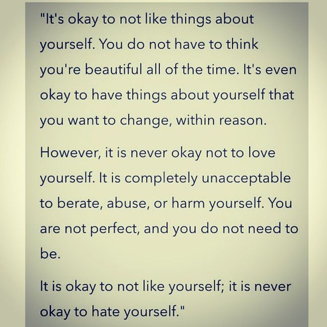 Love yourself :) Life Quotes Instaquote Truelines love instagood