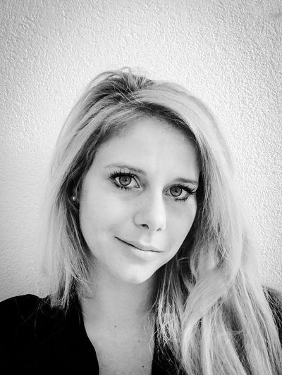 Blackandwhite EyeEm Woman Big Eyes Blonde Selfportrait Black And White Portrait Lady Love Me Or Hate Me, I Could Careless What You Think Or Say About Me!  Portrait Of A Woman
